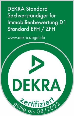 DEKRA Standard Sachverständiger für Immobilienbewertung D1